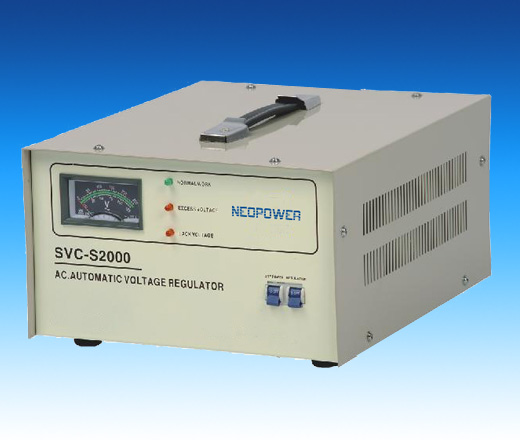 Single phase voltage stabilizer Super-thin high accuracy series