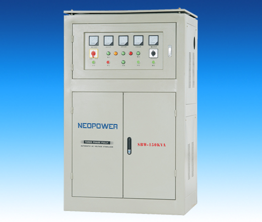 Three Phase Voltage Stabilizer SBW full auto compensated